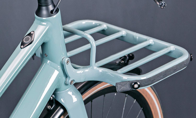 2021 Schindelhauer Emil Emilia porteur ebikemotion Pinion urban commuter city e-bikes,rack detail