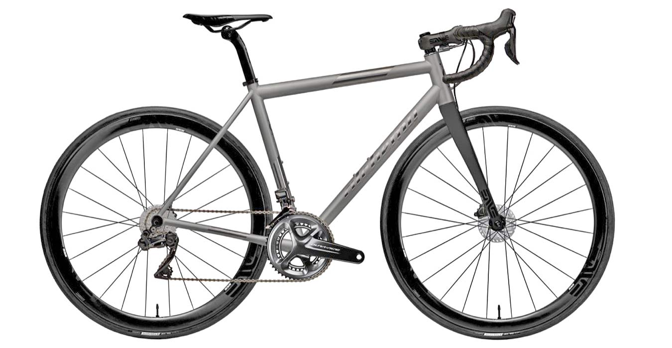 2021 Alchemy Atlas custom carbon or titanium all-road bikes,ti complete