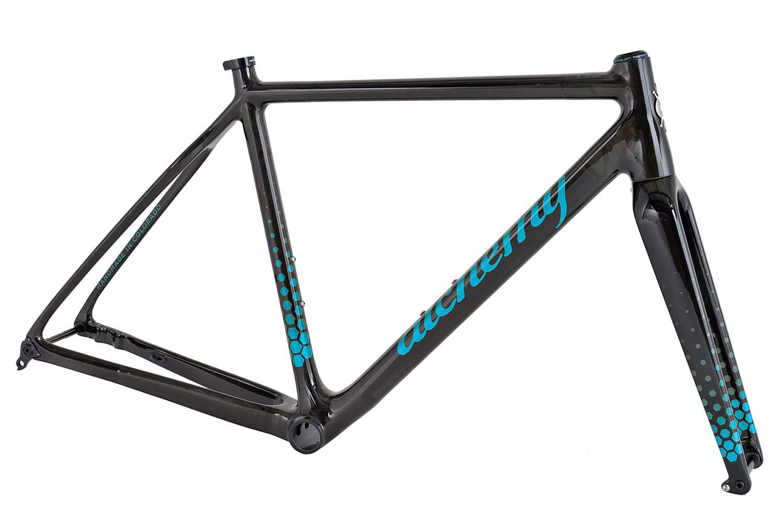 2021 Alchemy Atlas custom carbon or titanium all-road bikes,carbon frame blue