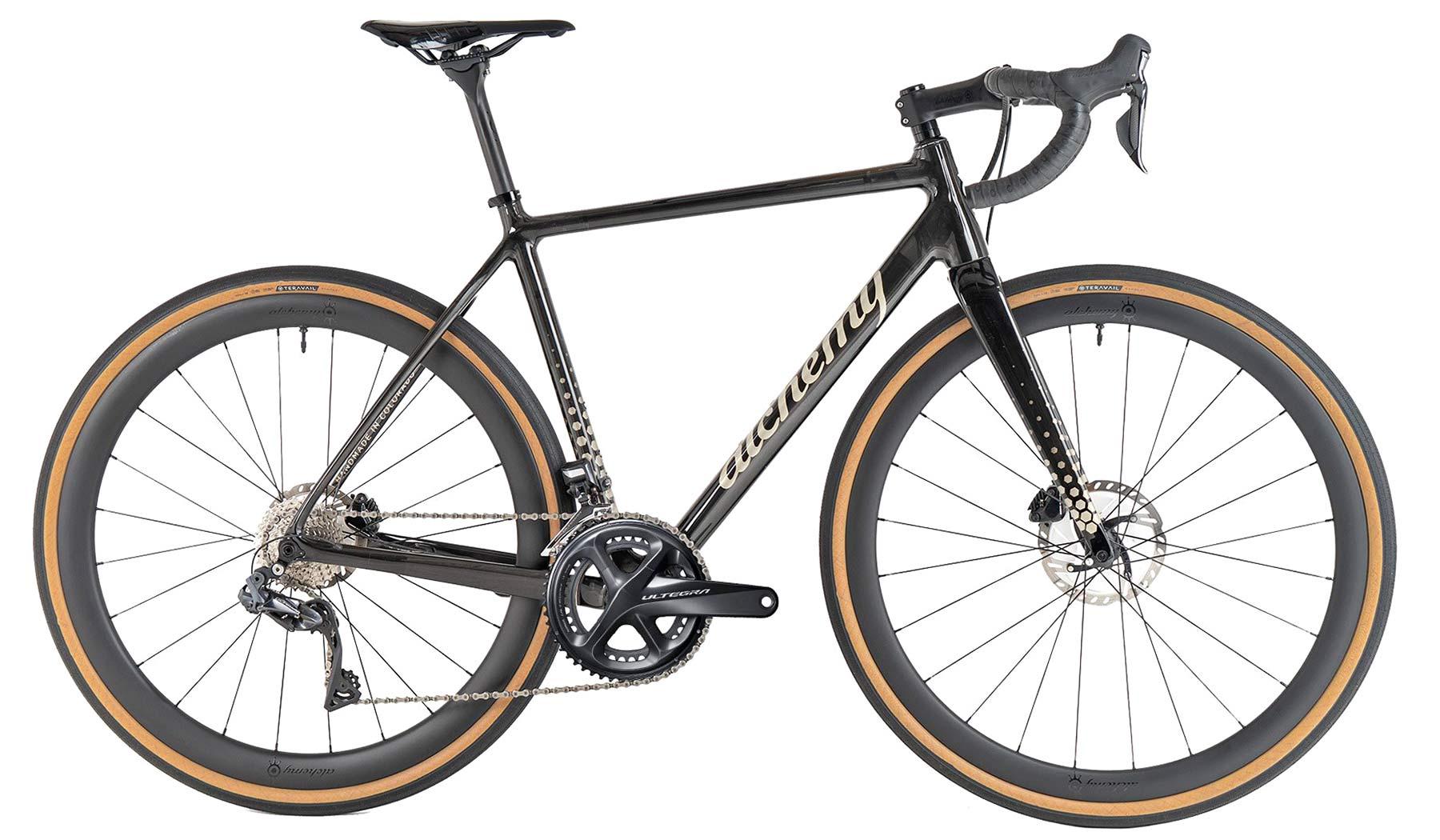 2021 Alchemy Atlas custom carbon or titanium all-road bikes,all-road 38mm