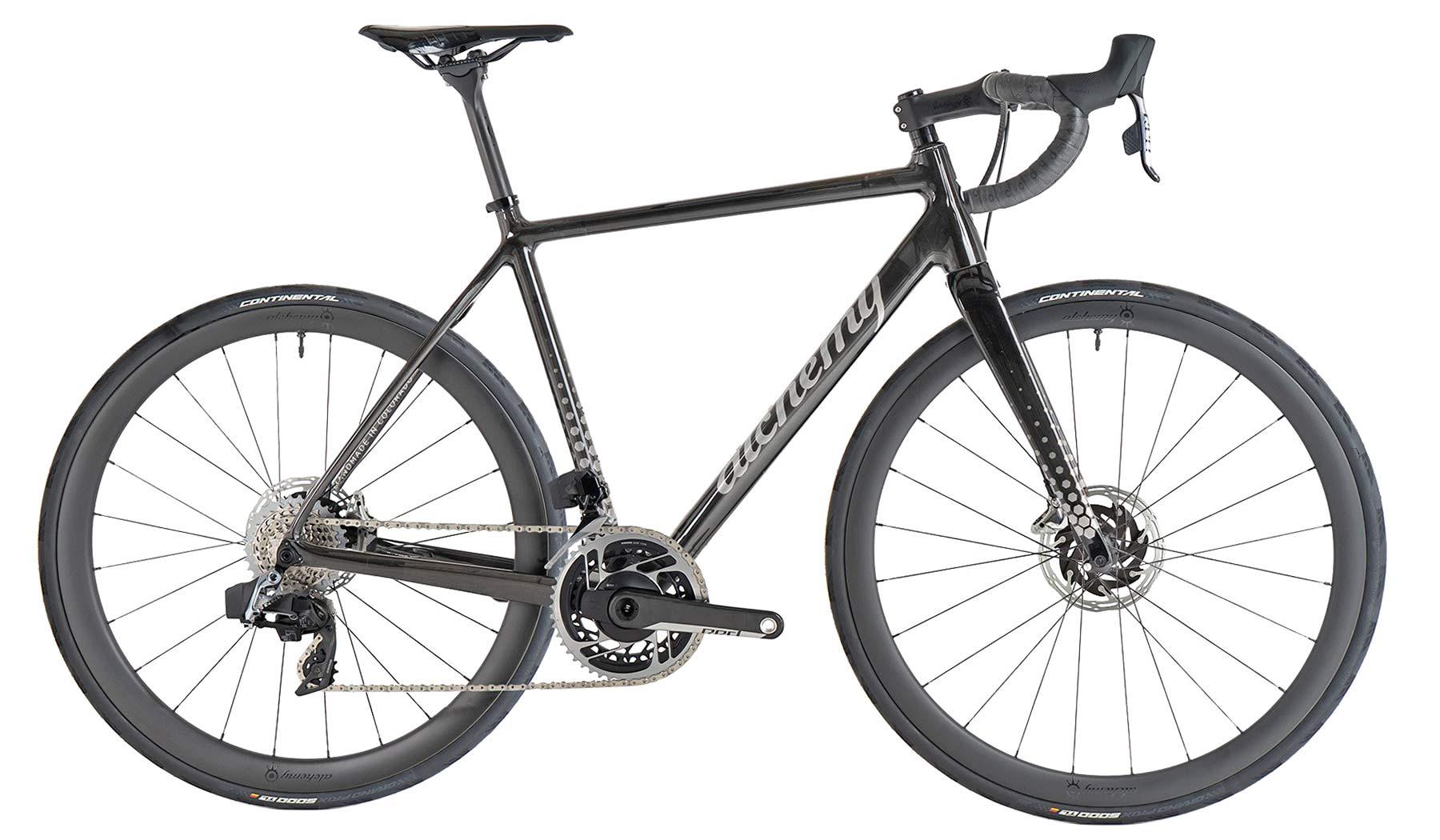 2021 Alchemy Atlas custom carbon or titanium all-road bikes,road