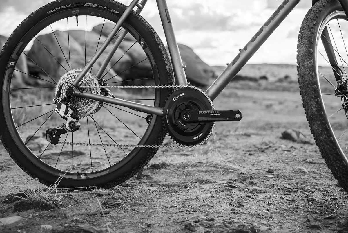 rotor 13 speed drivetrain 1x13 gravel bike
