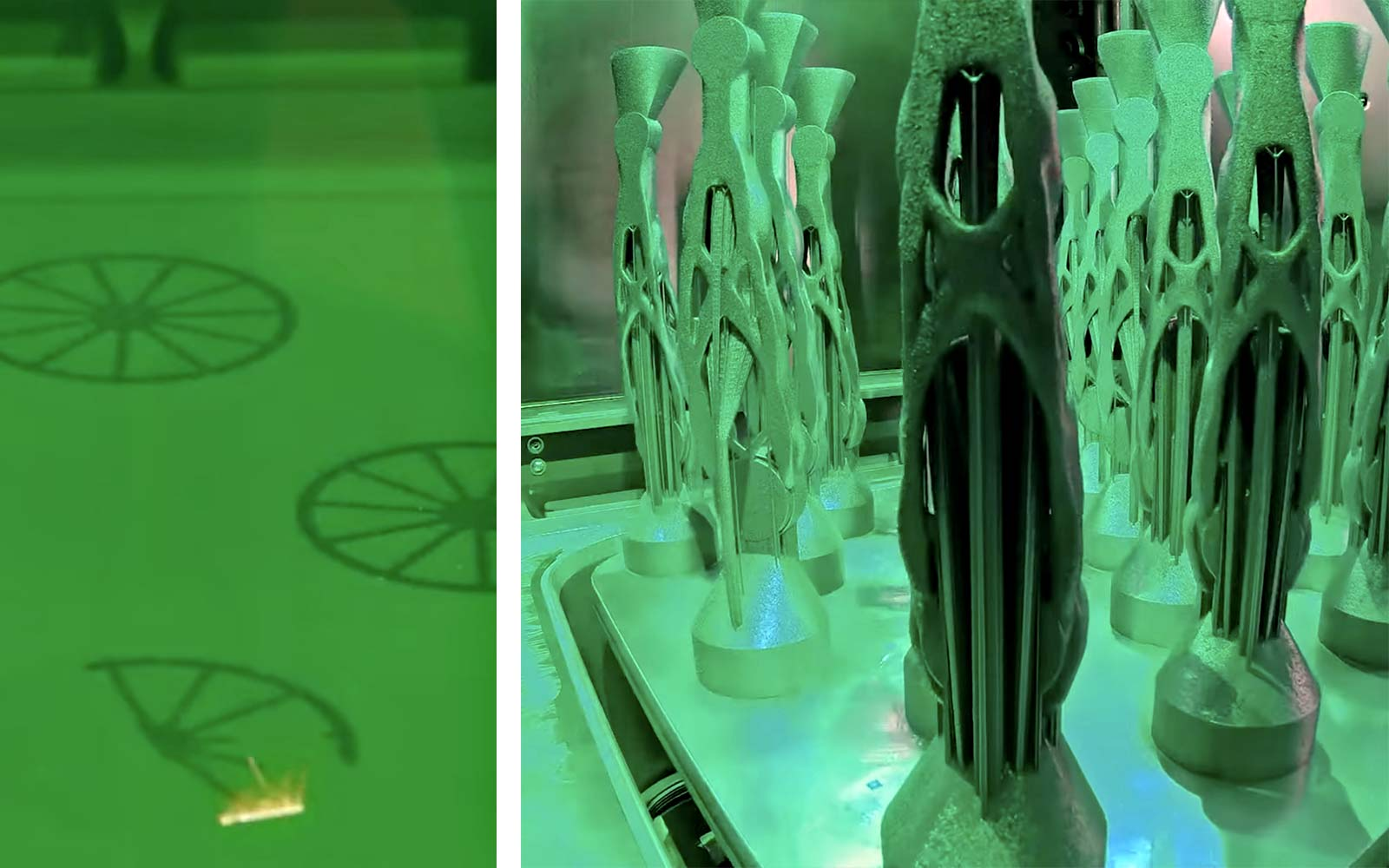SRAM Autodesk Ai generative design prototype MTB cranks, machine-learning artificial intelligence, additive manufacturing sintered metal