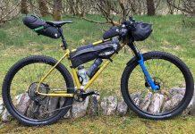 Mason RAW steel bikepacking mountain bike hardtail prototype UK-made, Josh Ibbett HT550 complete