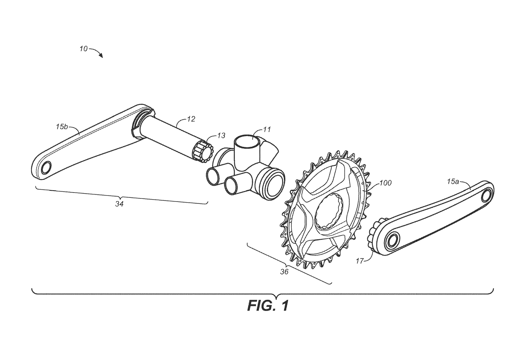 Carbon chainring system