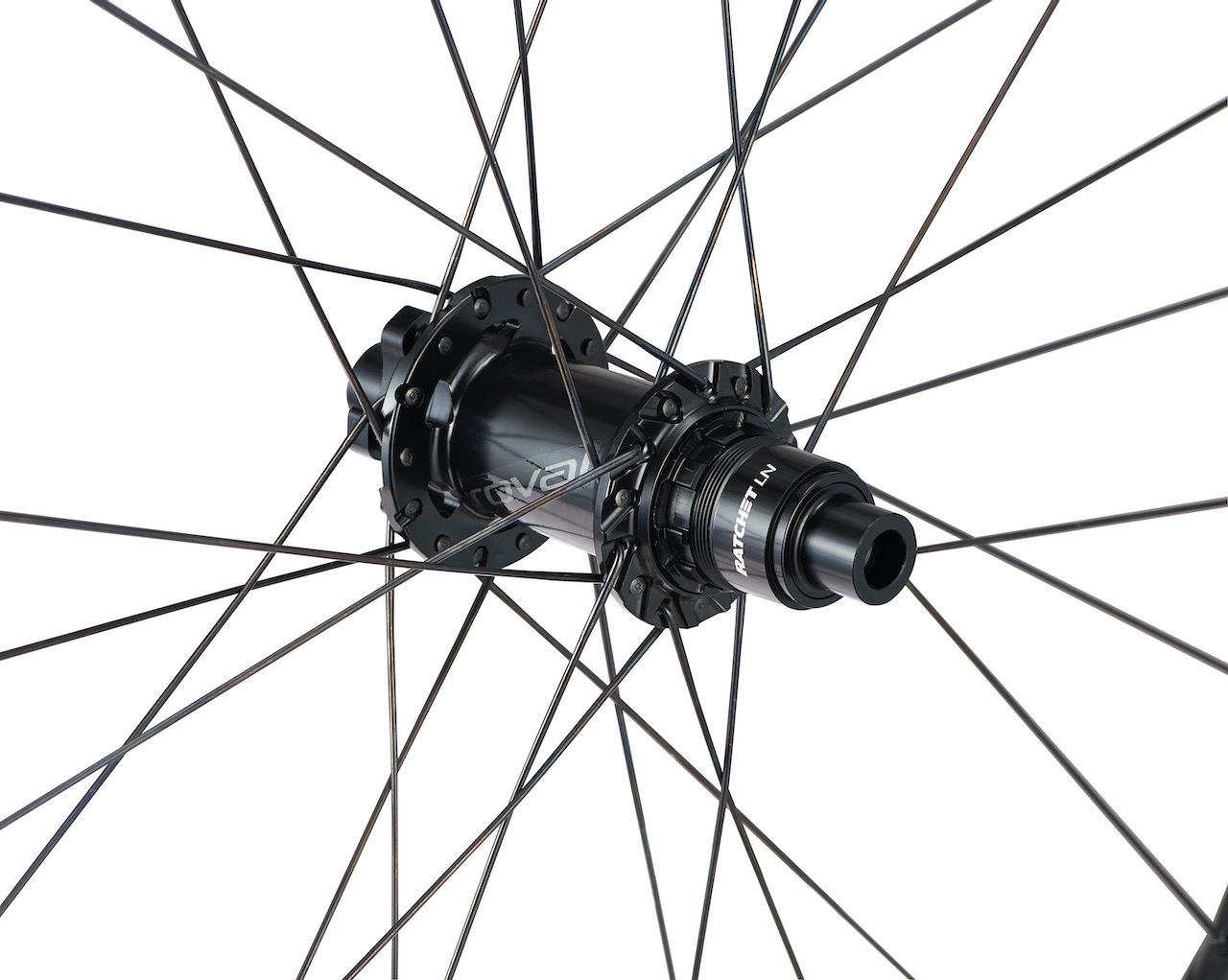 Roval Traverse Wheelset rear hub close up