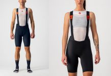 2021 castelli premio black cycling bibshorts for men and women