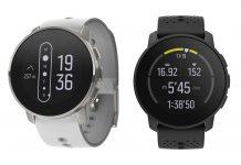 new suunto 9 peak gps multisport watch shown in different colors