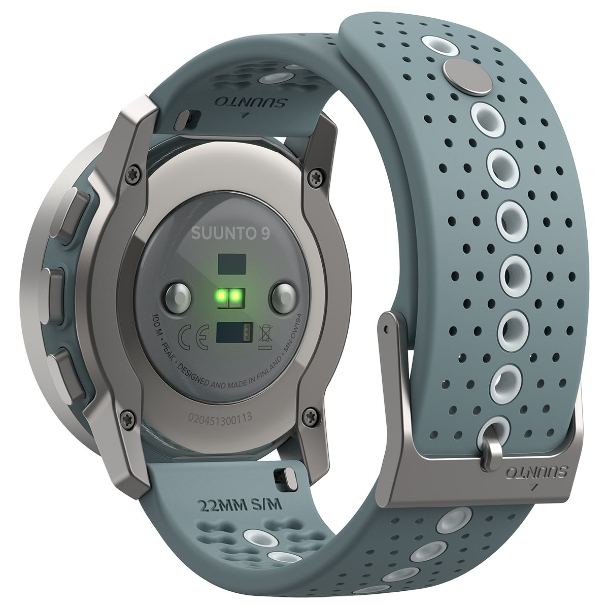 new suunto 9 peak gps multisport watch has built in heart rate and blood oxygen sensors