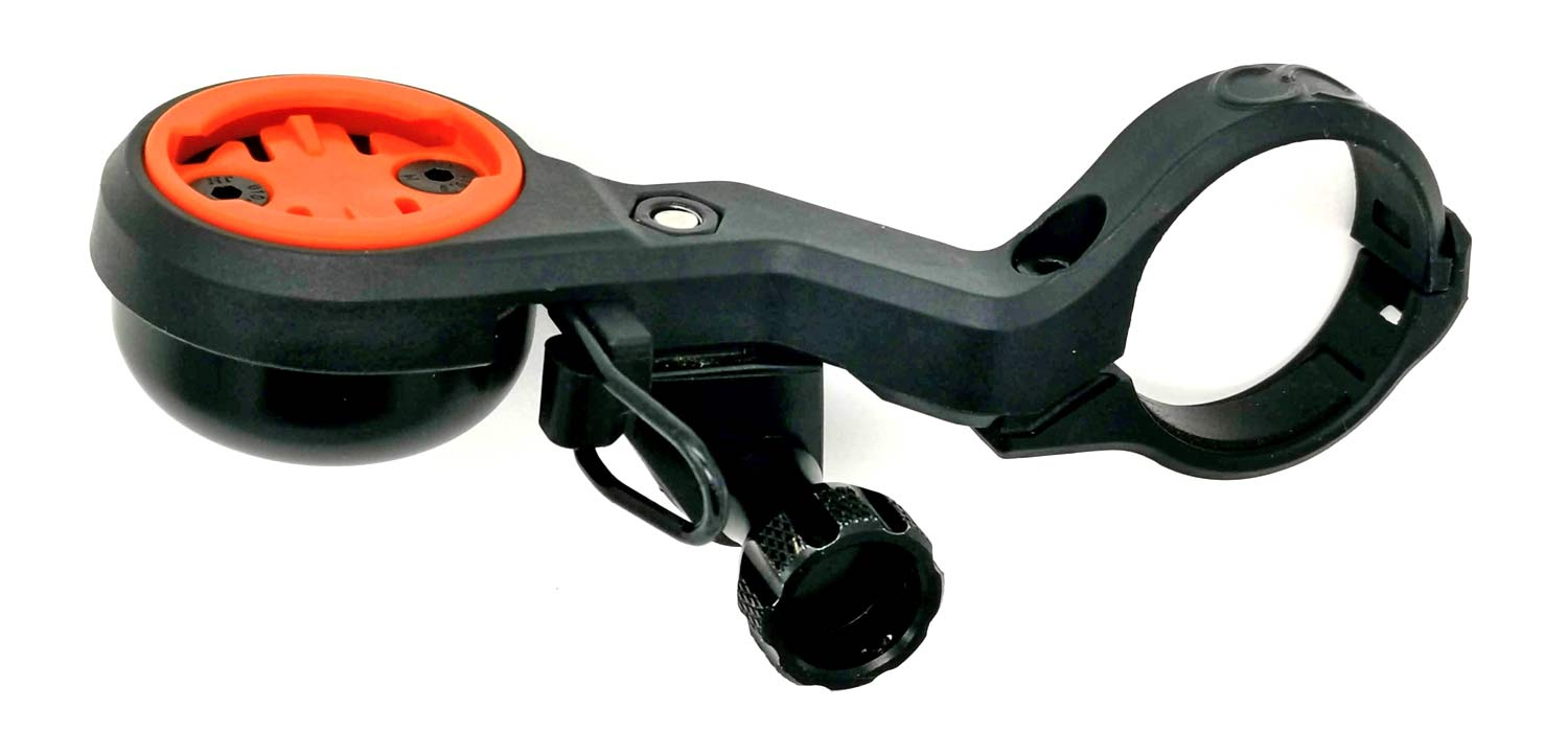 CloseTheGap HideMyBell Regular2 cycling computer GPS mounts with integrated bell, GoPro mount