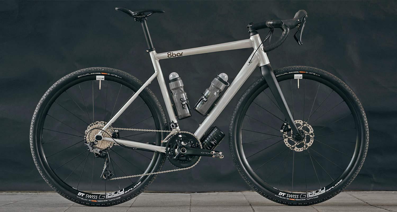 8bar Mitte v3 alloy all-road bike, affordable adjustable 2in1 road and gravel bike,gravel complete