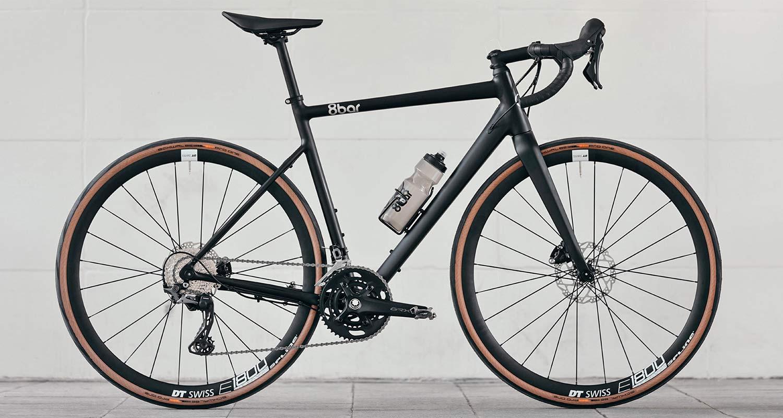 8bar Mitte v3 alloy all-road bike, affordable adjustable 2in1 road and gravel bike,road complete