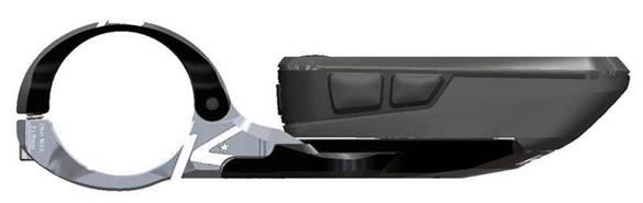 K-EDGE new Wahoo BOLT 2.0 Aero Mount rendering