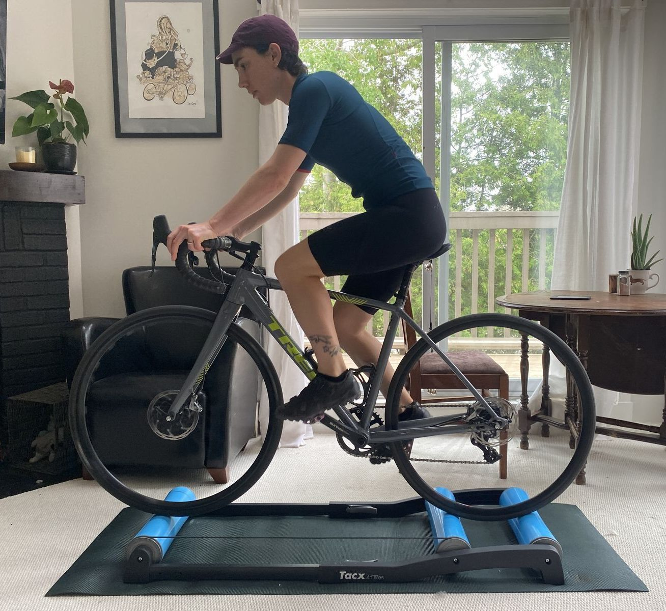 TACX Antares rollers for indoor training