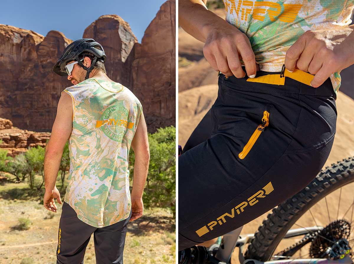 pit viper mtb trail shorts