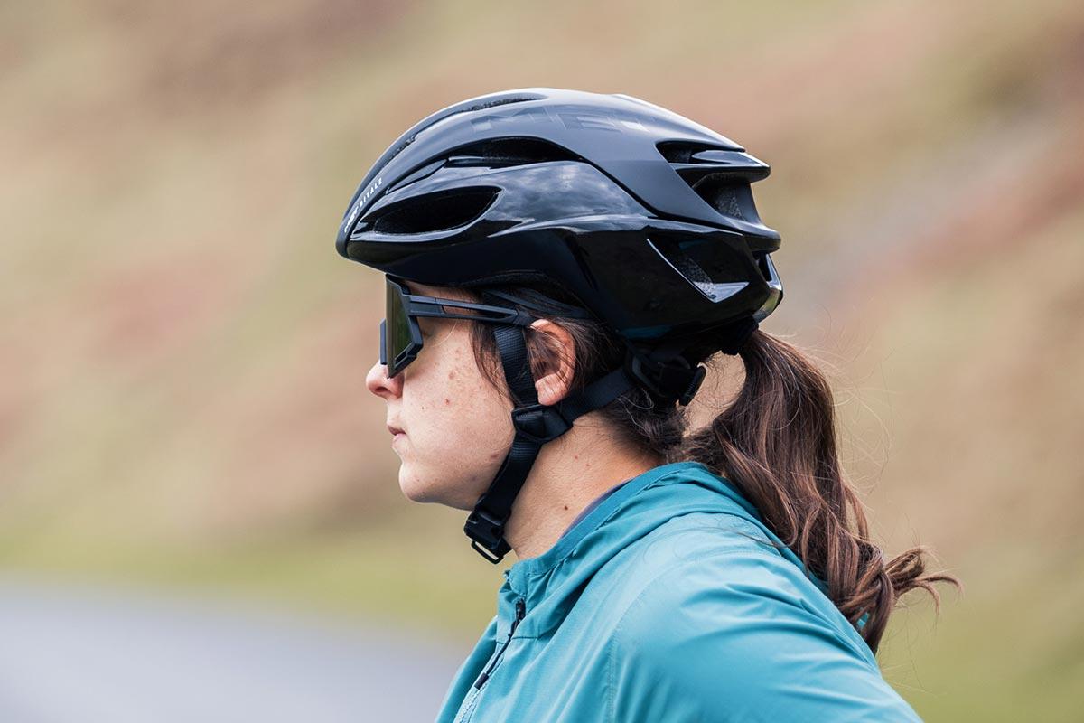 met rivale road helmet coverage