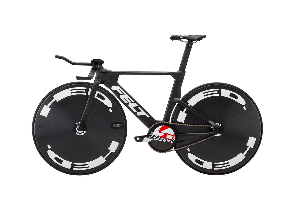 Felt TA FRD pursuit track bike rio olympics