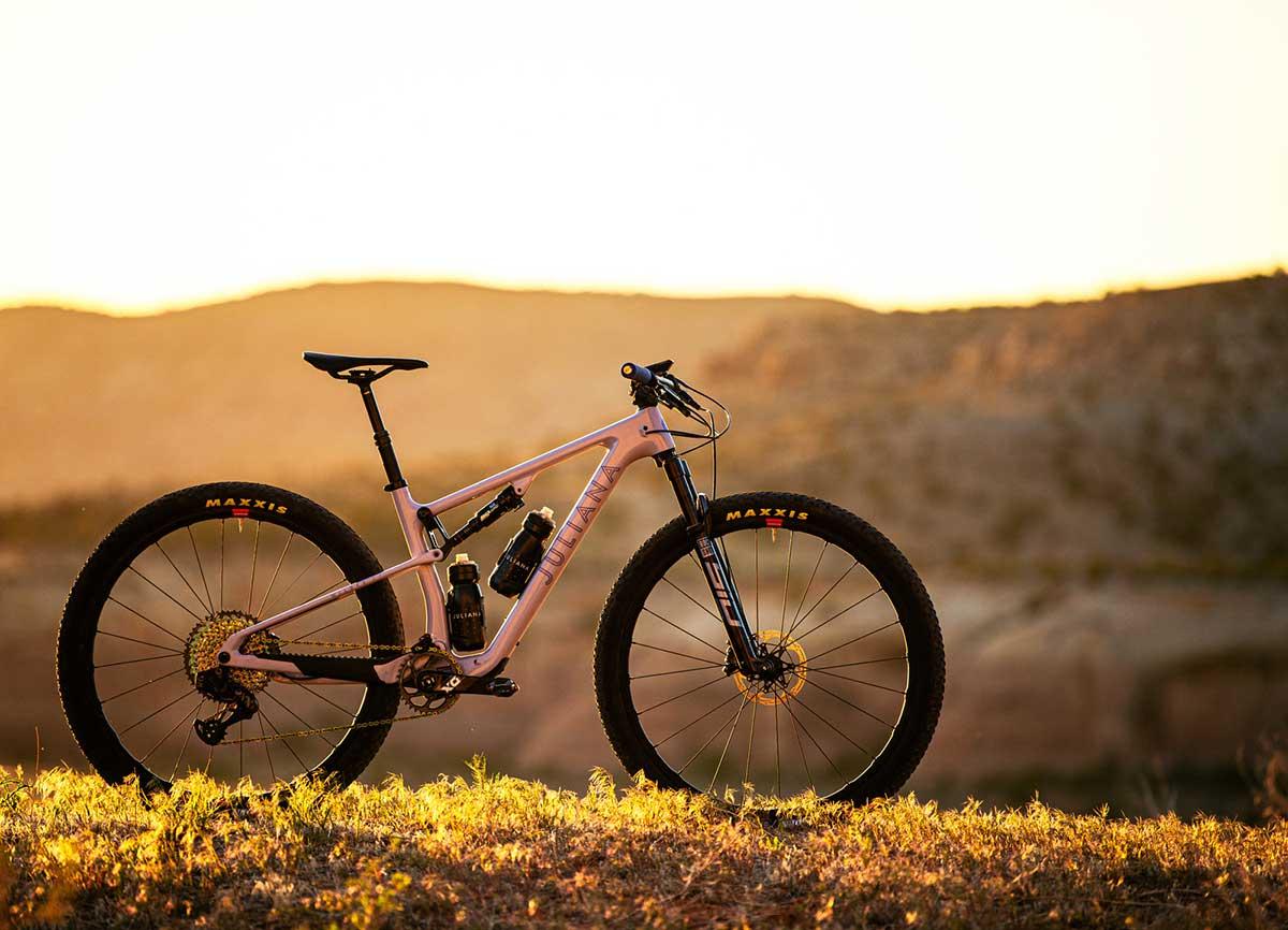 juliana wilder lightweight womens full suspension mountain bike