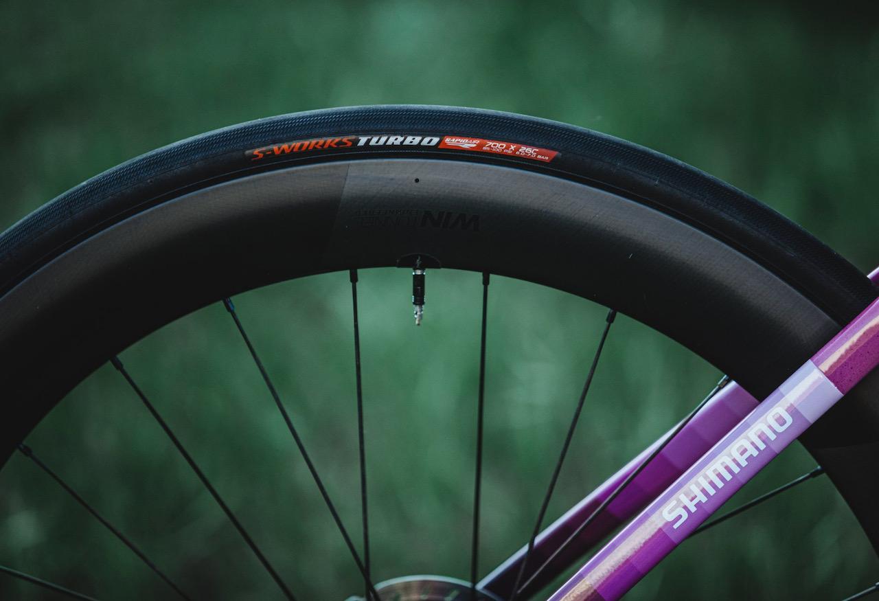 Peter Sagan Tarmac SL 7 Giro tires and wheels