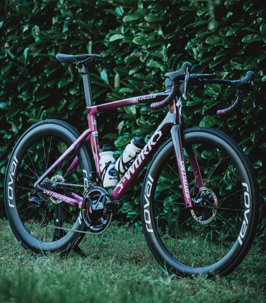 Peter Sagan Tarmac SL 7 Giro front view