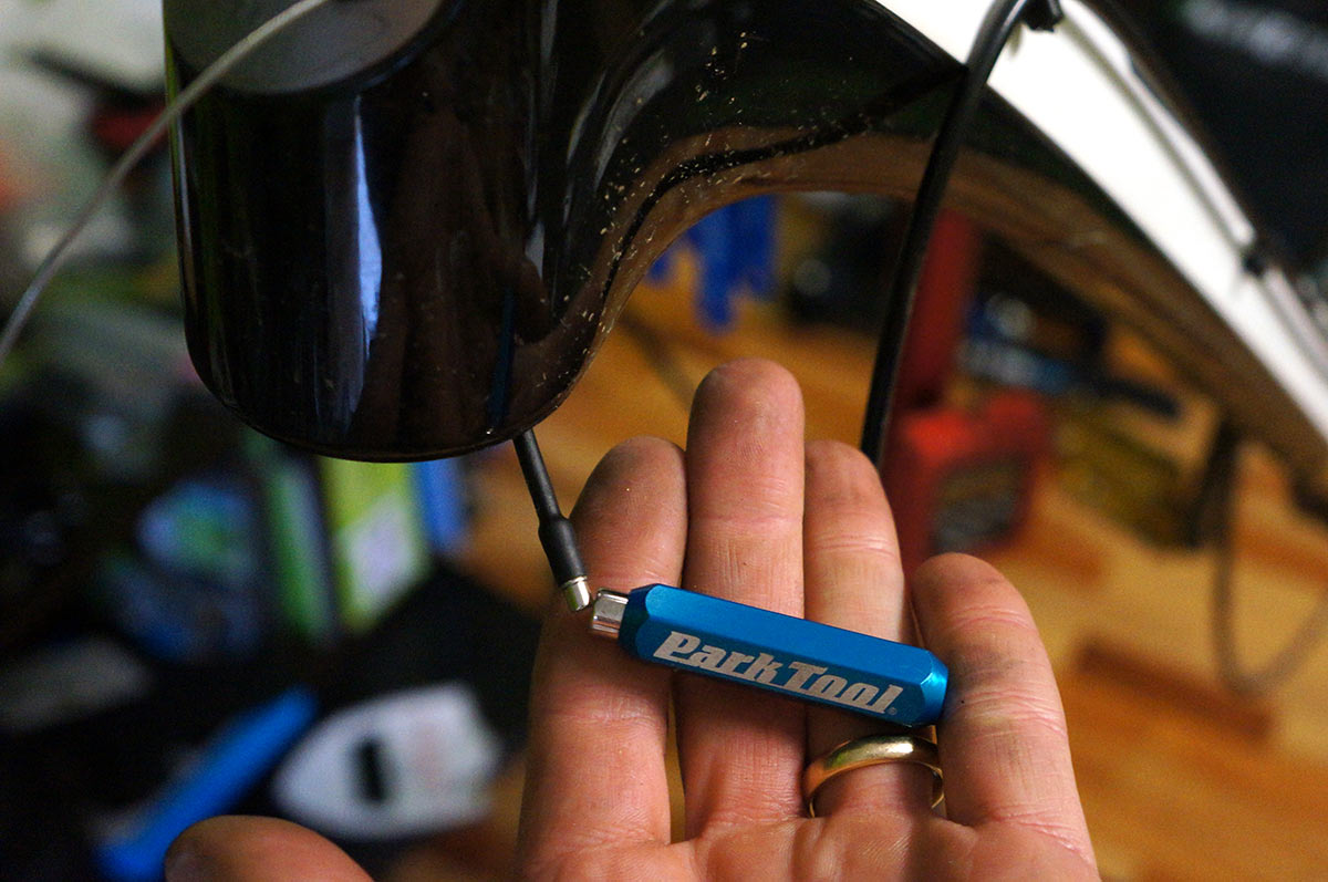 park tool ir 1-2 internal cable routing tool