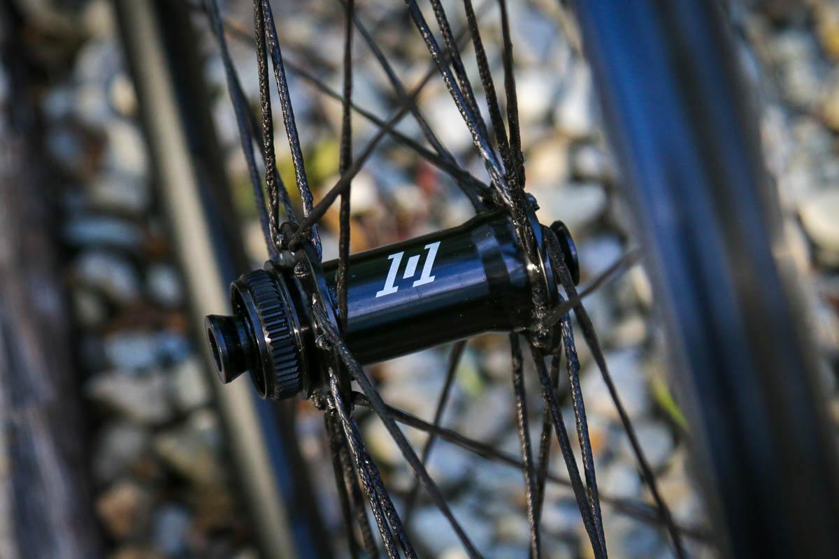 Atomik ALGR aluminum gravel wheels with BERD spokes front i9 1/1 hub