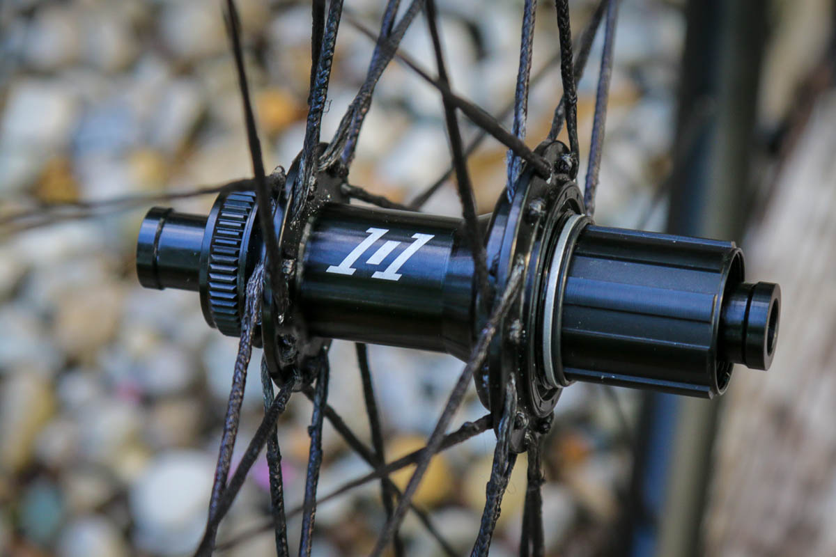 Atomik ALGR aluminum gravel wheels with BERD spokes rear i9 1/1 hub