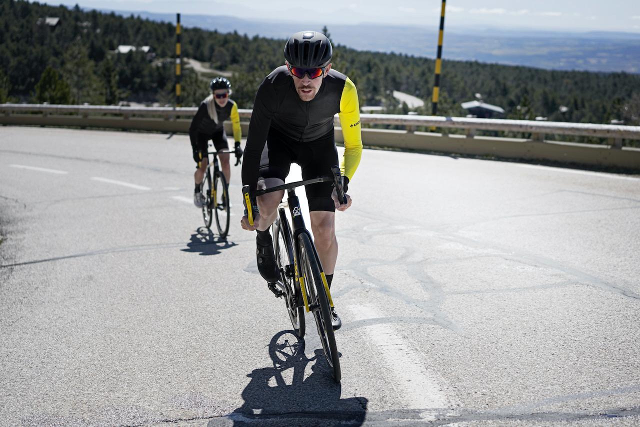 Colnago TDF V3R climbing