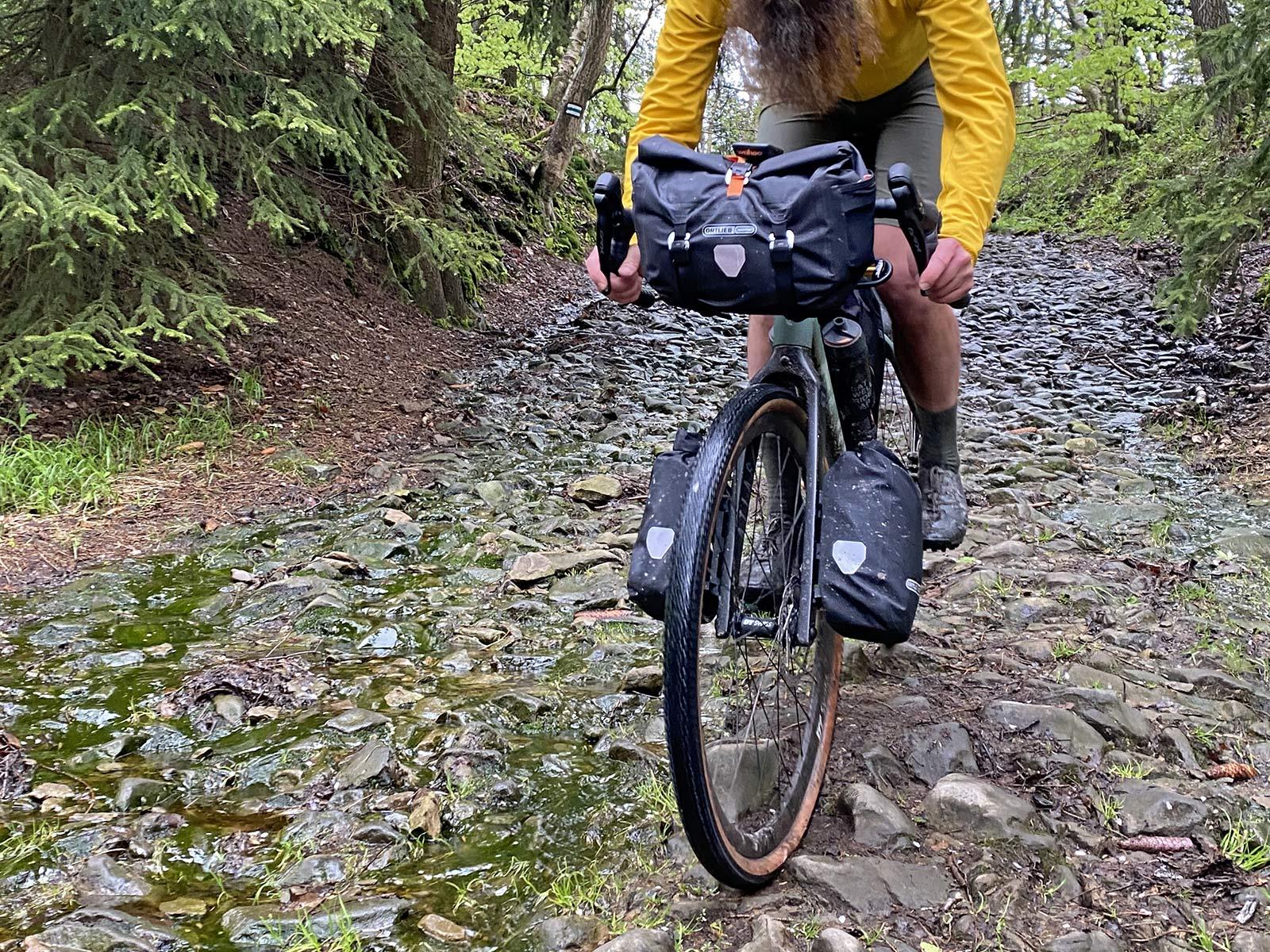 Ortlieb Handlebar Pack QR, made-in-Germany waterproof quick release 11L bikepacking bar bag,rocky off-road