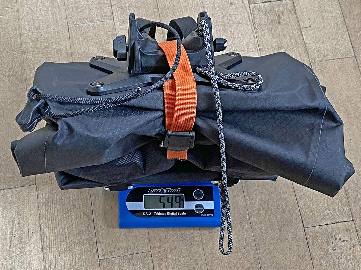 Ortlieb Handlebar Pack QR, made-in-Germany waterproof quick release 11L bikepacking bar bag,549g actual weight