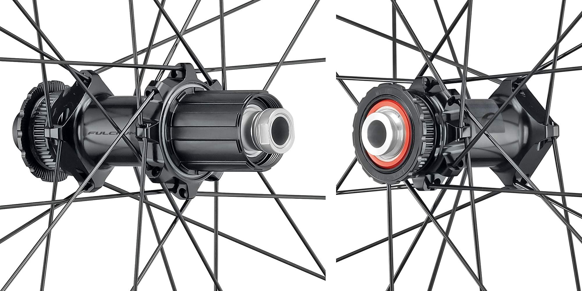 2022 Fulcrum Racing 4, 5, 6 DB alloy road wheels, affordable aluminum tubeless gravel all road bike disc brake hubs