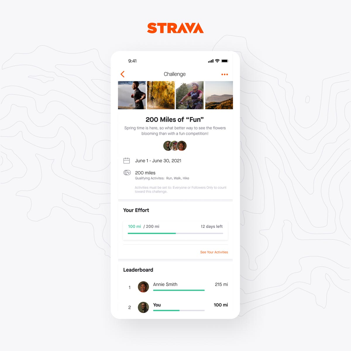 new routes & segments with Strava's latest app update