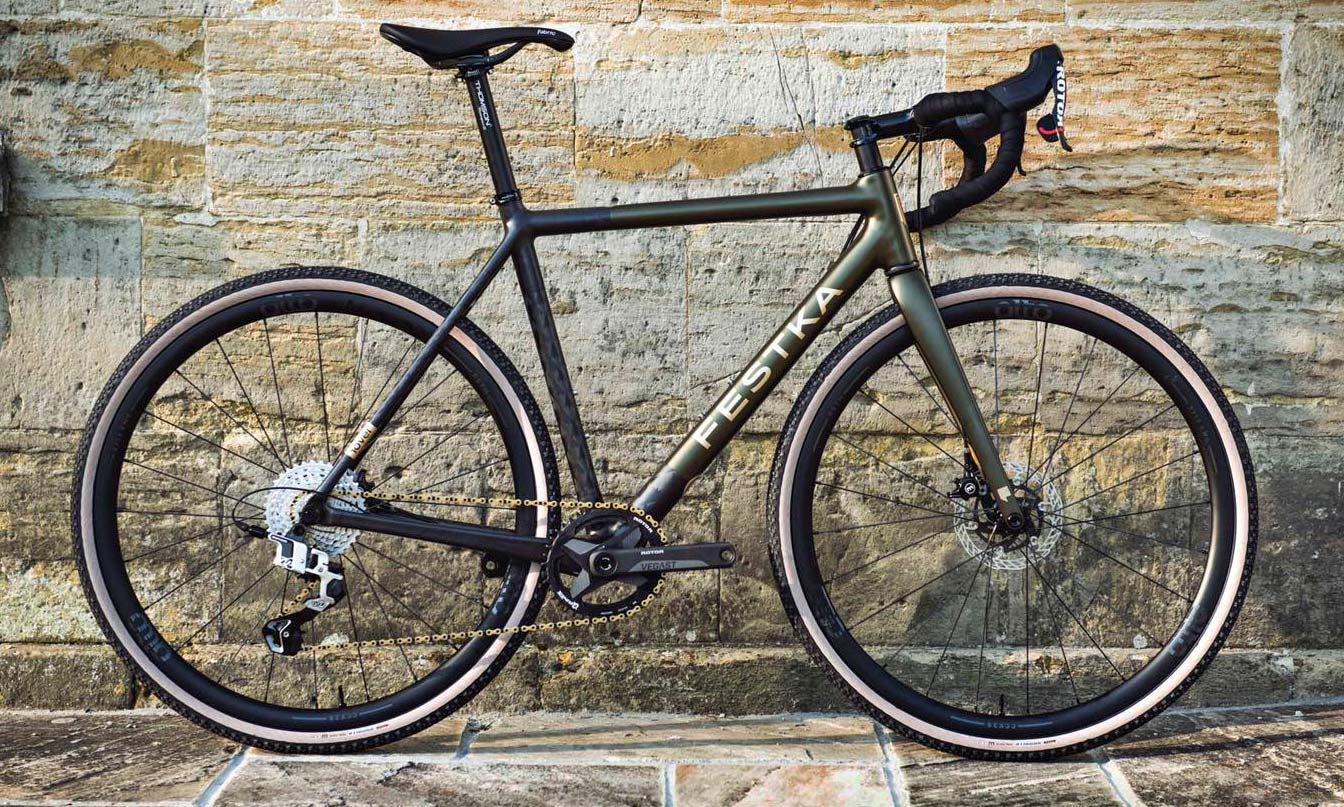 Festka Rover by The Bike Tailor UK, Rotor UNO group set