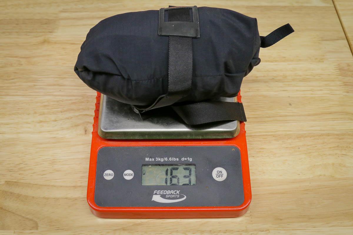 Rapha Performance Trailwear jacket weight