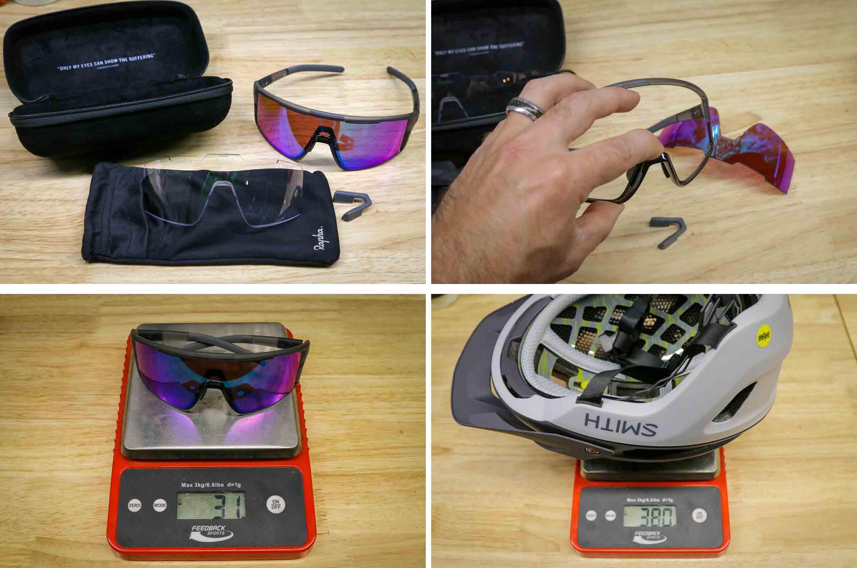 Rapha Performance Trailwear sunglass details
