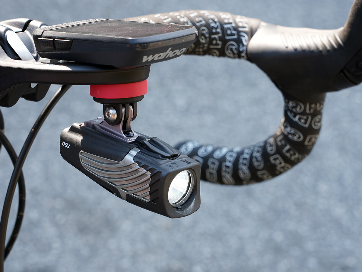 Kim cycling quick release gopro mount works great for cycling lights