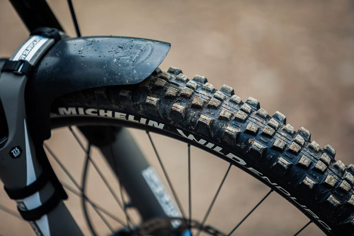 michelin wild enduro front tire review