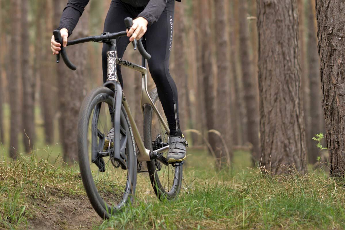 Urwahn Acros EDT gravel bike, limited edition 3D-printed steel no-seattube gravel road adventure bike,Lauf