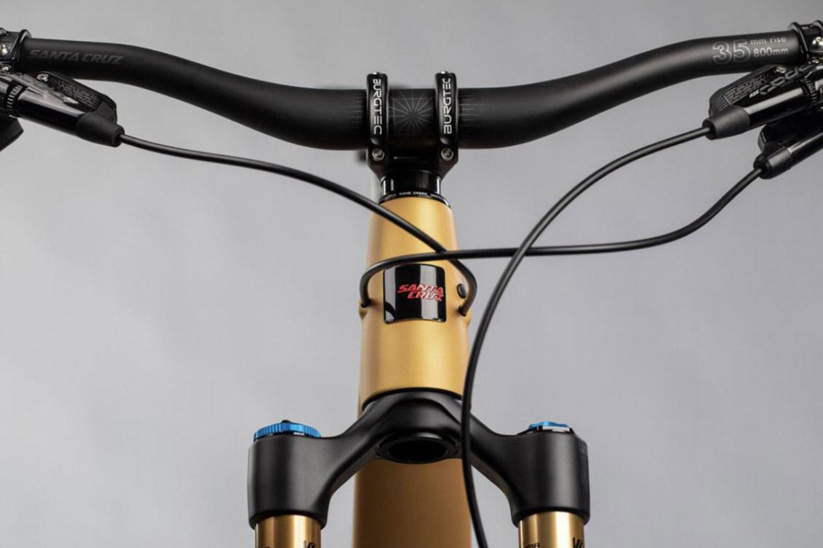 santa cruz carbon handlebar 35mm rise