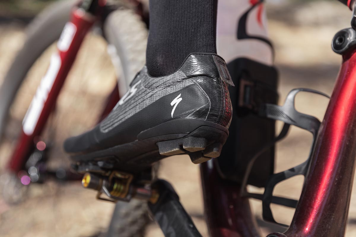 Specialized EXOS EVO XC Shoes heel cup