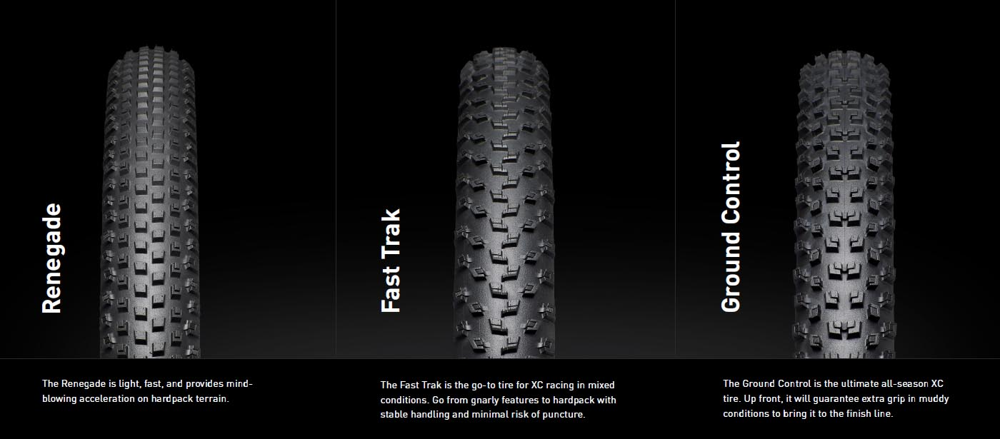 Specialized XC tire models