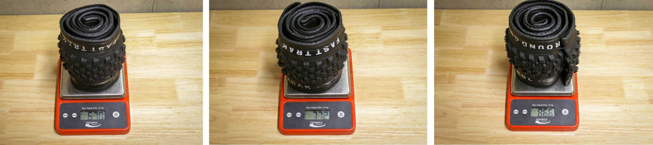 Specialized XC tire actual weight