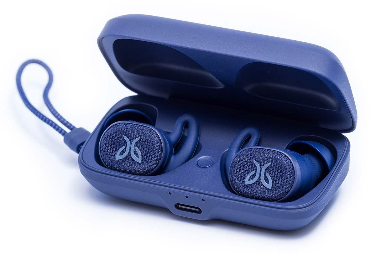 jaybird vista 2 wireless earbuds closeup details