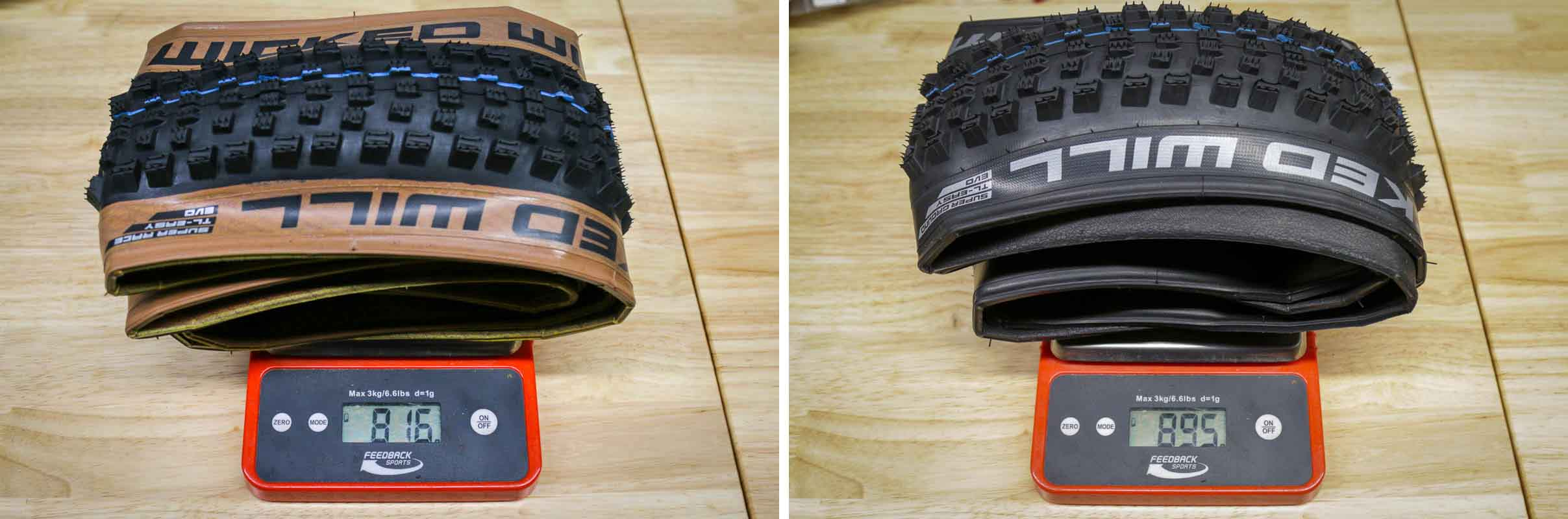 Schwalbe Wicked Will actual weight