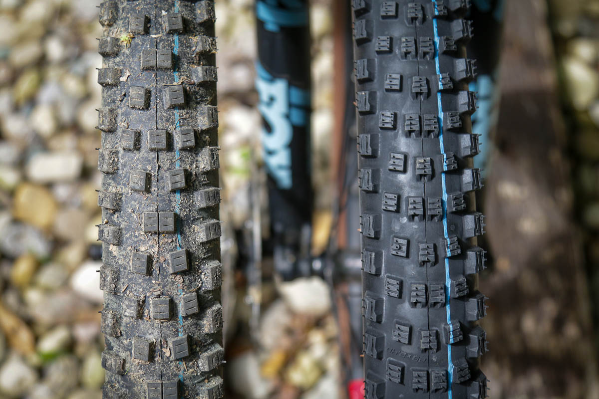 Schwalbe Wicked Will compared to Nobby Nic MTB tire