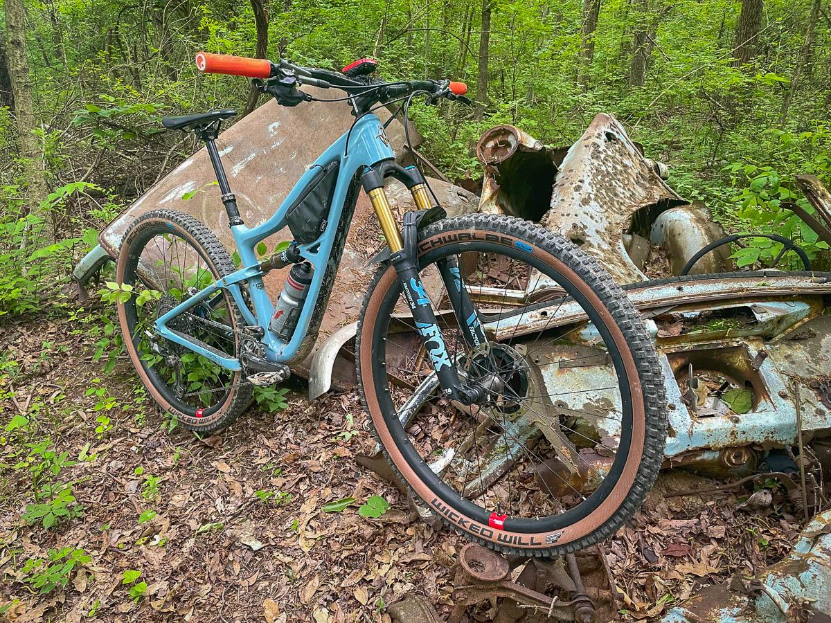 Schwalbe Wicked Will mountain bike tire on Ibis Ripley