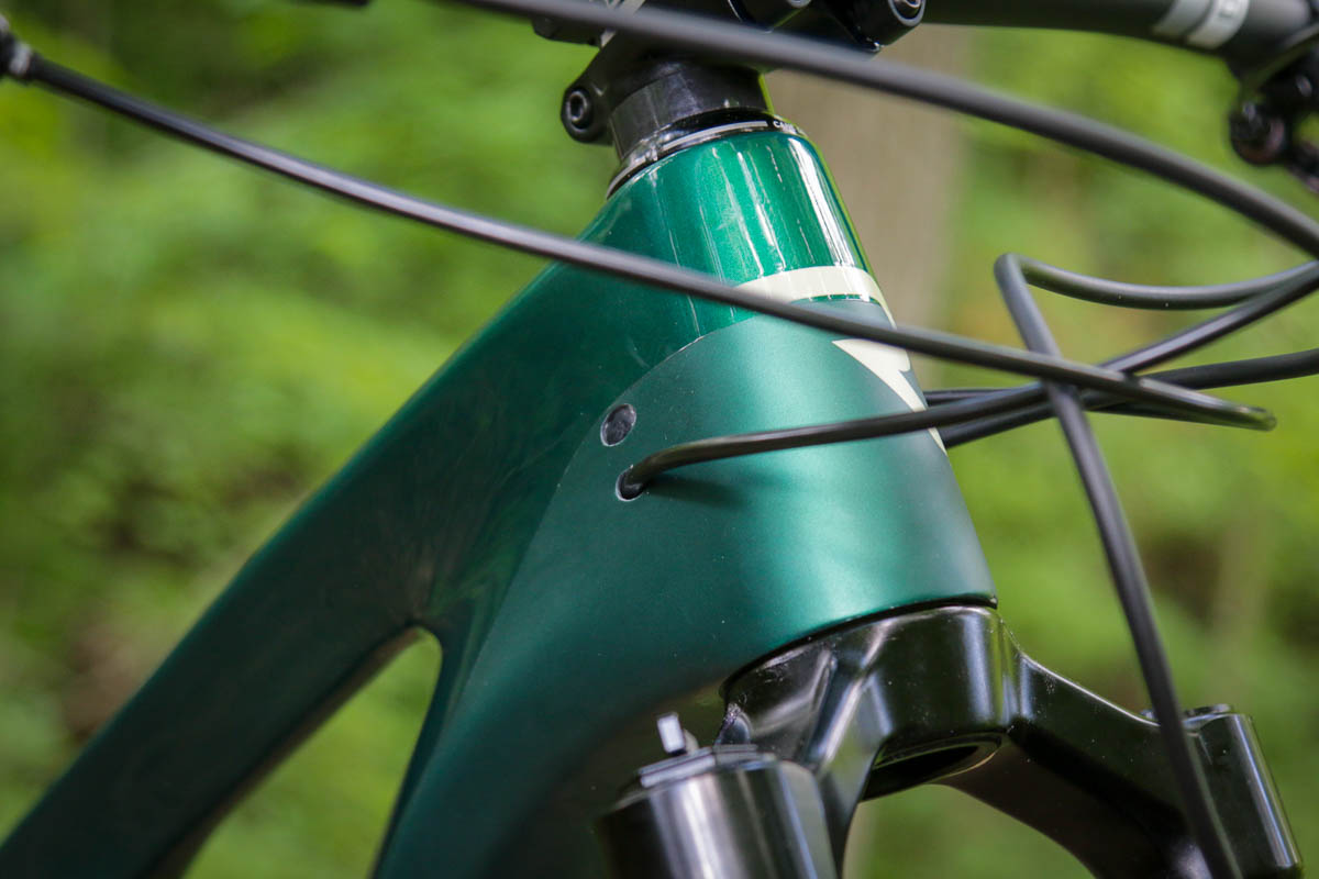 Internal cable routing on Revel Ranger