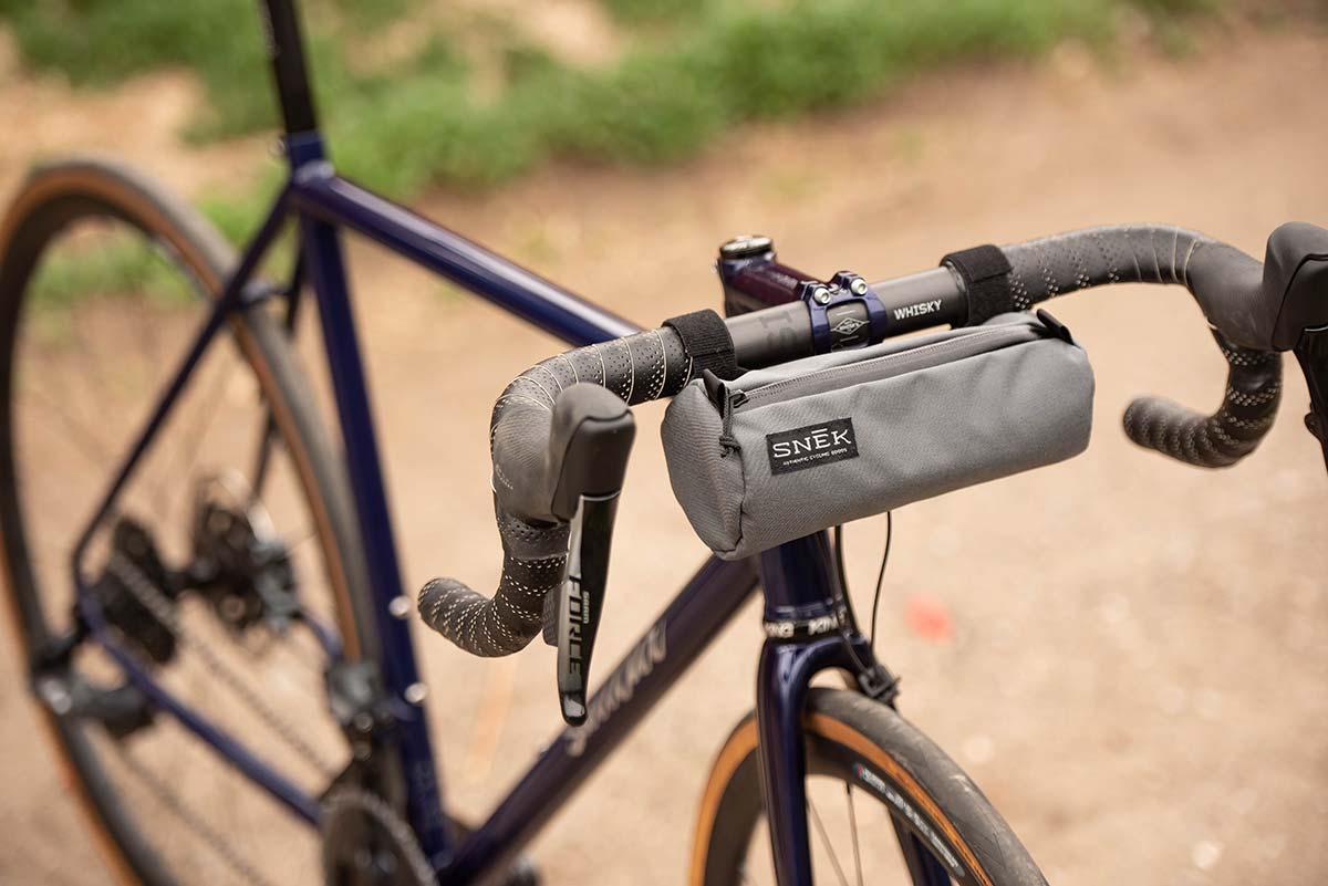 snek cycling stache handlebar bag