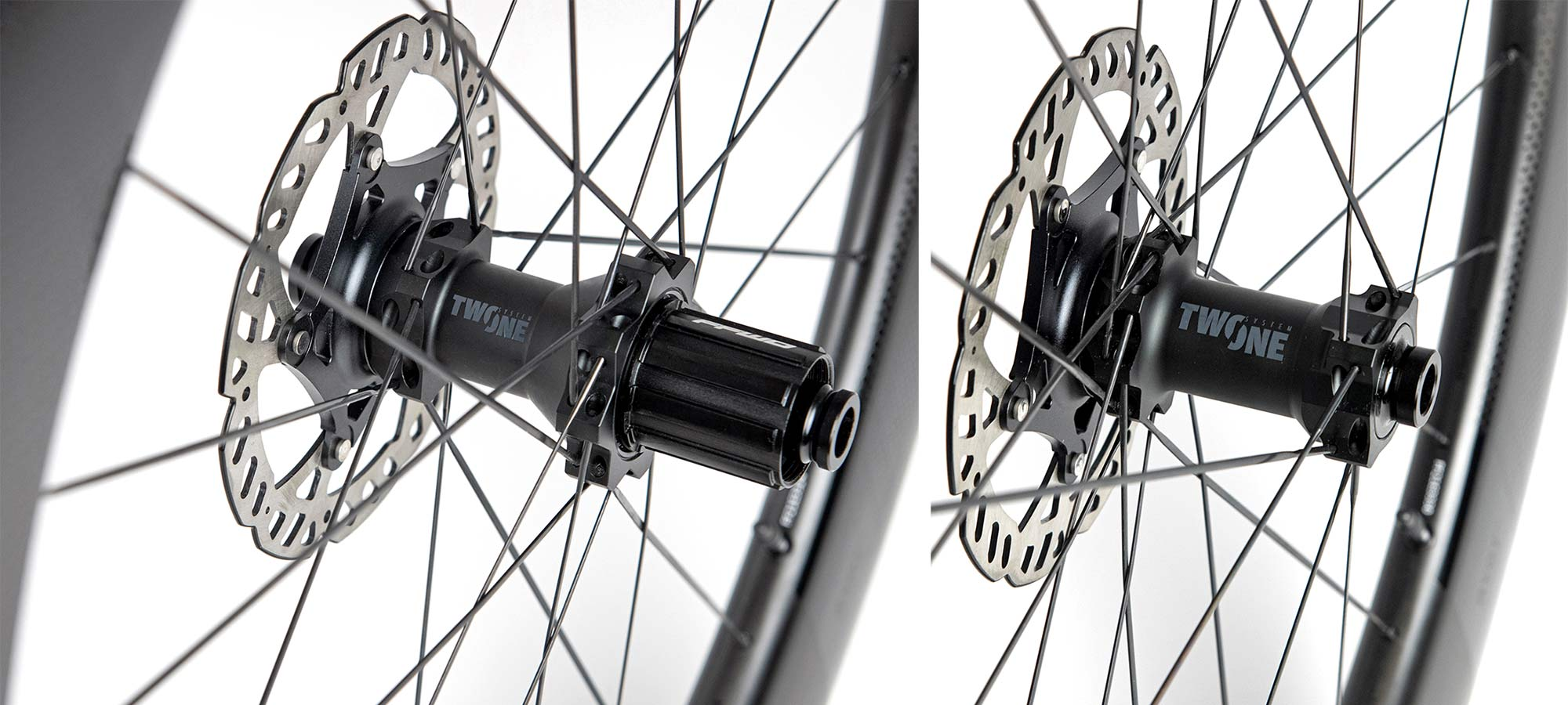 FFWD Two-One affordable 2-1 hubs make carbon Drift gravel and RYOT aero road wheels more affordable, hubset