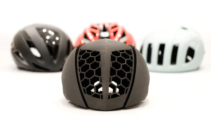 KAV is the latest company 3D printing bicycle helmets for a custom fit - Bikerumor